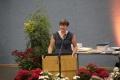 Frau Hoeck für die Lehrerschaft
