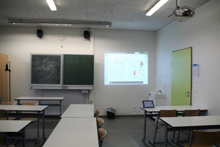 Neubau Klassenraum