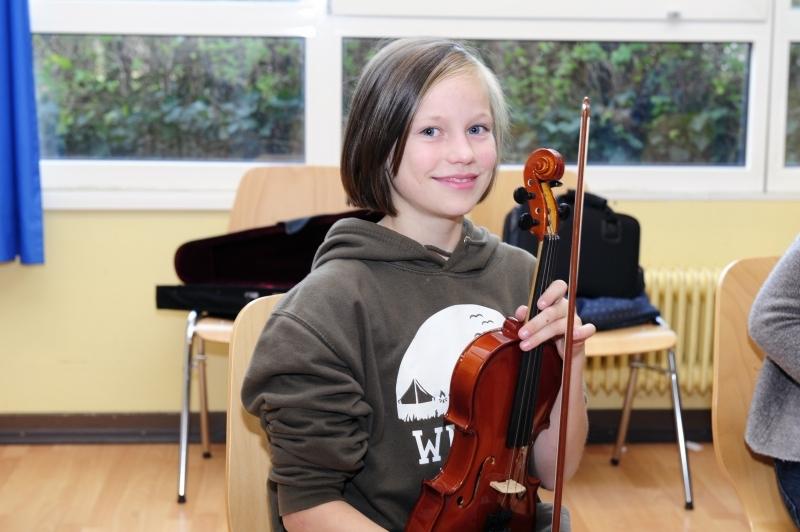Musik-Geige-kleine