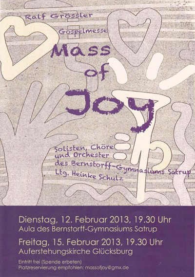 Mass of joy